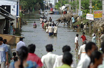 India's Floods Reveal Climate Change Specter (TIME)
