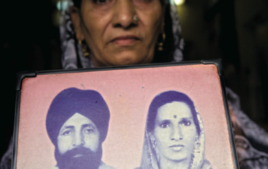 The Widows of the '84 Riots (ELLE)